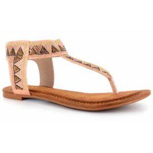 Corkys  Sandals - Blush Nora Sandal - Women 10